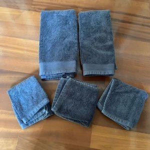 Nate Berkus Hand Towel & Washcloth Set